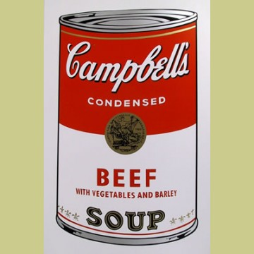 Andy Warhol (after) Beef