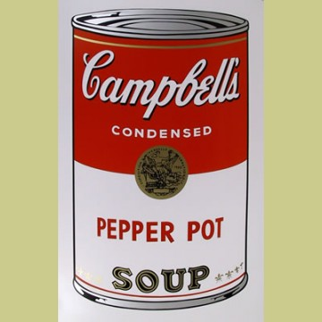 Andy Warhol (after) Pepper Pot