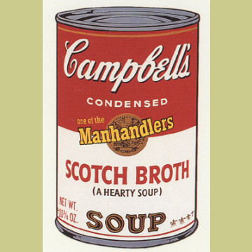 Andy Warhol (after) Scotch Broth