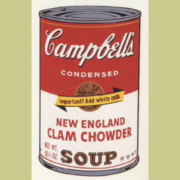 Andy Warhol (after) New England Clam Chowder
