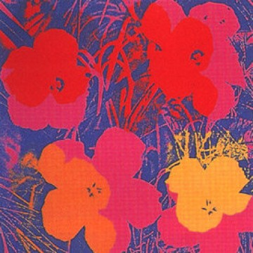 Andy Warhol (after) Flowers II.66