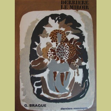 Georges Braque Cover, Derriere le Miroir 166