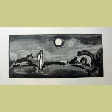Georges Rouault Before the House of Lazarus