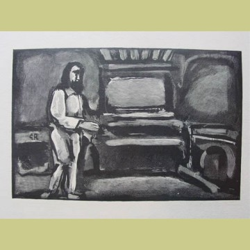 Georges Rouault Christ Before the Judgment