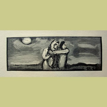 Georges Rouault Two Figures - Oraison
