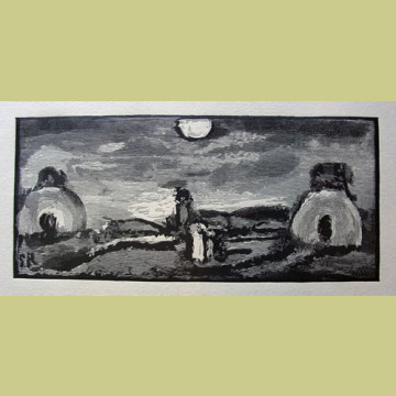 Georges Rouault The Flight