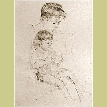 Mary Cassatt The Manicure