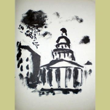 Marc Chagall The Pantheon