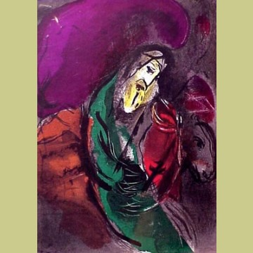 Marc Chagall Jeremiah