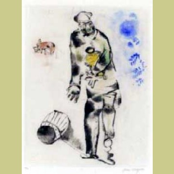 Marc Chagall The Father, from Mein Leiben