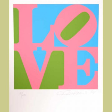 Robert Indiana The Book of Love 11