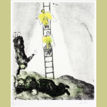 Marc Chagall Jacob's Ladder