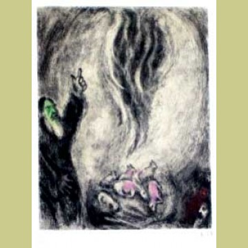 Marc Chagall The Offering of Elijah