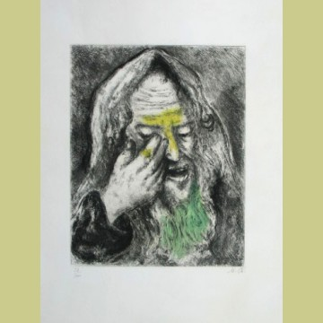 Marc Chagall Sufferings of Jeremiah