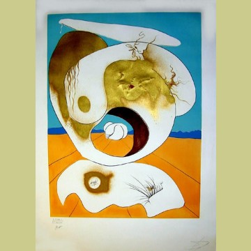 Salvador Dali Planetary and scatologic vision