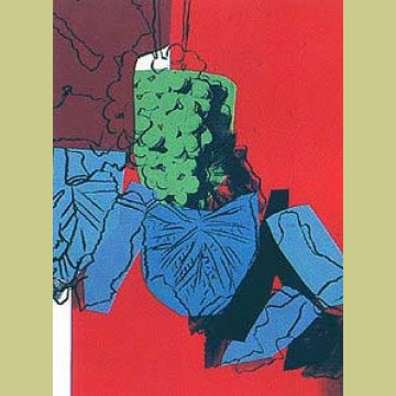 Andy Warhol Grapes