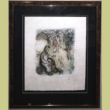 Marc Chagall Jacob's Blessing