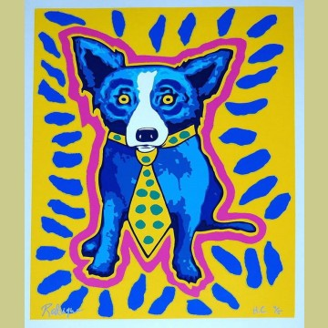 George Rodrigue I Gotta Make A Splash