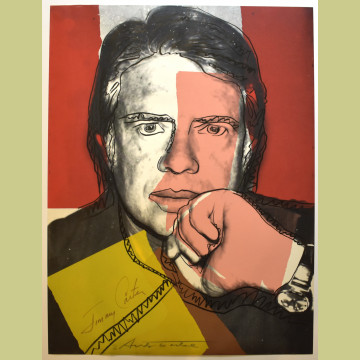 Andy Warhol Jimmy Carter