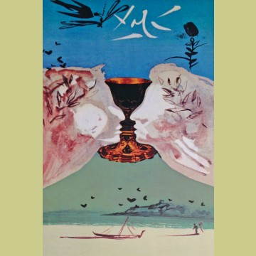 Salvador Dali Ace of Cups