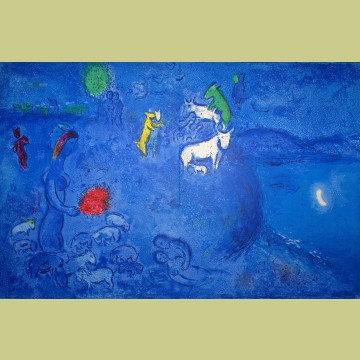 Marc Chagall Spring, from Daphnis and Chloe