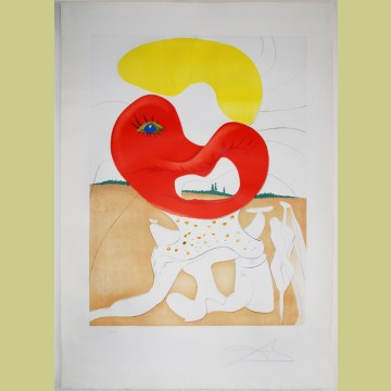 Salvador Dali The Blood of the Yin and Yang
