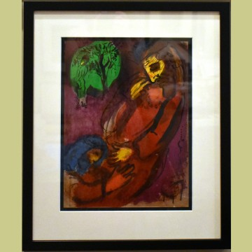 Marc Chagall David and Absalom