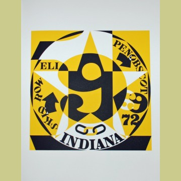 Robert Indiana Decade: Autoportrait 1969