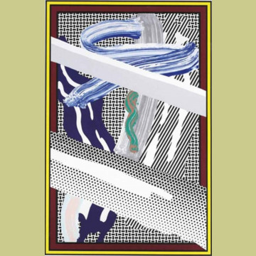 Roy Lichtenstein Reflections On Expressionist Painting