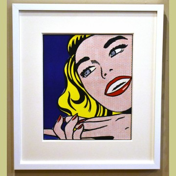 Roy Lichtenstein Girl