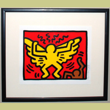 Keith Haring Pop Shop IV Plate 1