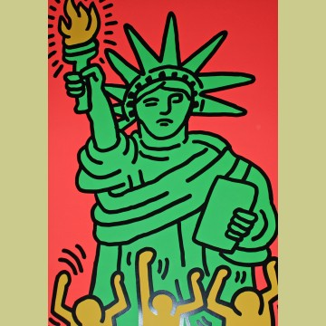 Keith Haring Statue of Liberty