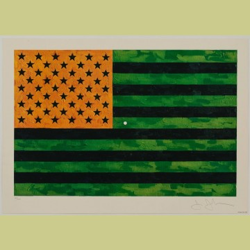 Jasper Johns Flag (Moratorium)