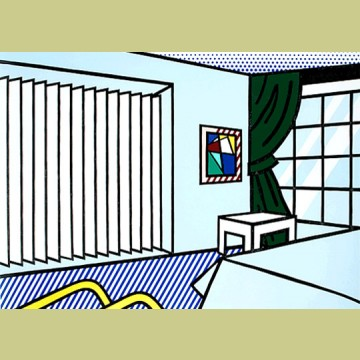 Roy Lichtenstein Bedroom