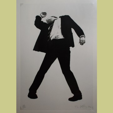 Robert Longo Untitled (Rick), from Men in the Cities
