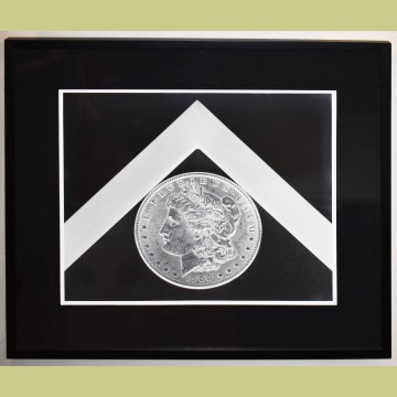 Robert Mapplethorpe Silver Dollar - Black & White