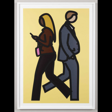 Julian Opie New York Couple 5