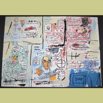 Jean-Michel Basquiat Olympic