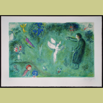 Marc Chagall Philetas's Orchard, from Daphnis and Chloe
