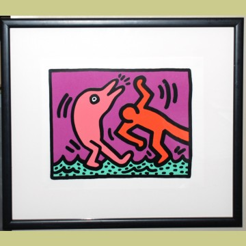 Keith Haring Pop Shop V Plate 4
