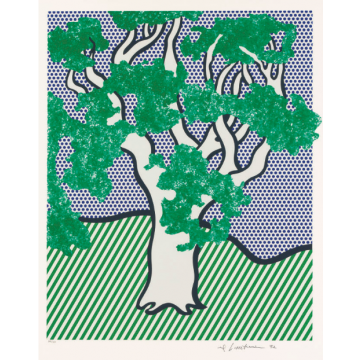 Roy Lichtenstein Rain Forest