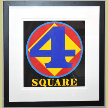 Robert Indiana Polygon: Square