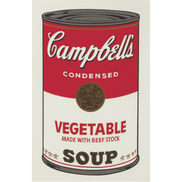 Andy Warhol Campbell's Soup I: Vegetable