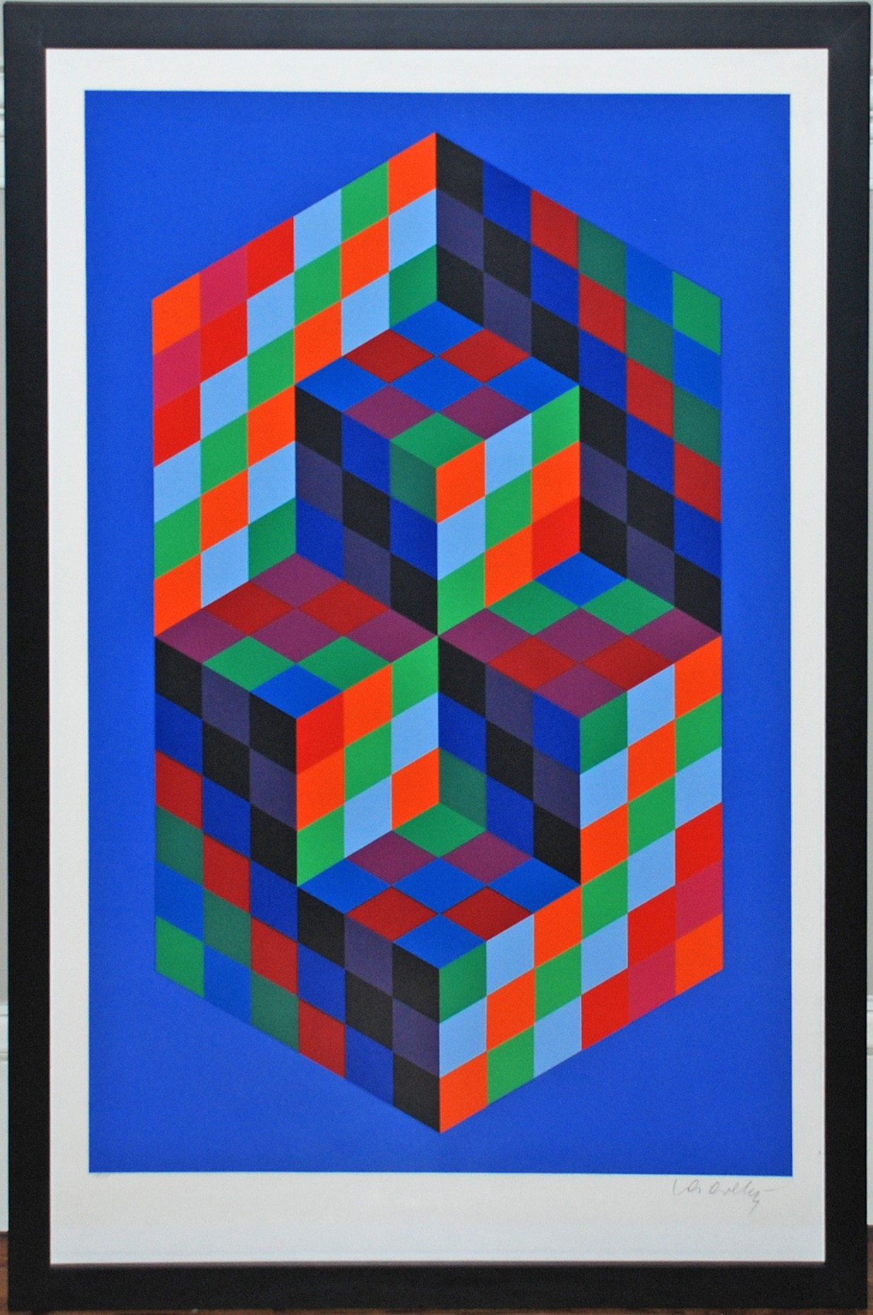 Victor Vasarely   Georgetown Frame Shoppe