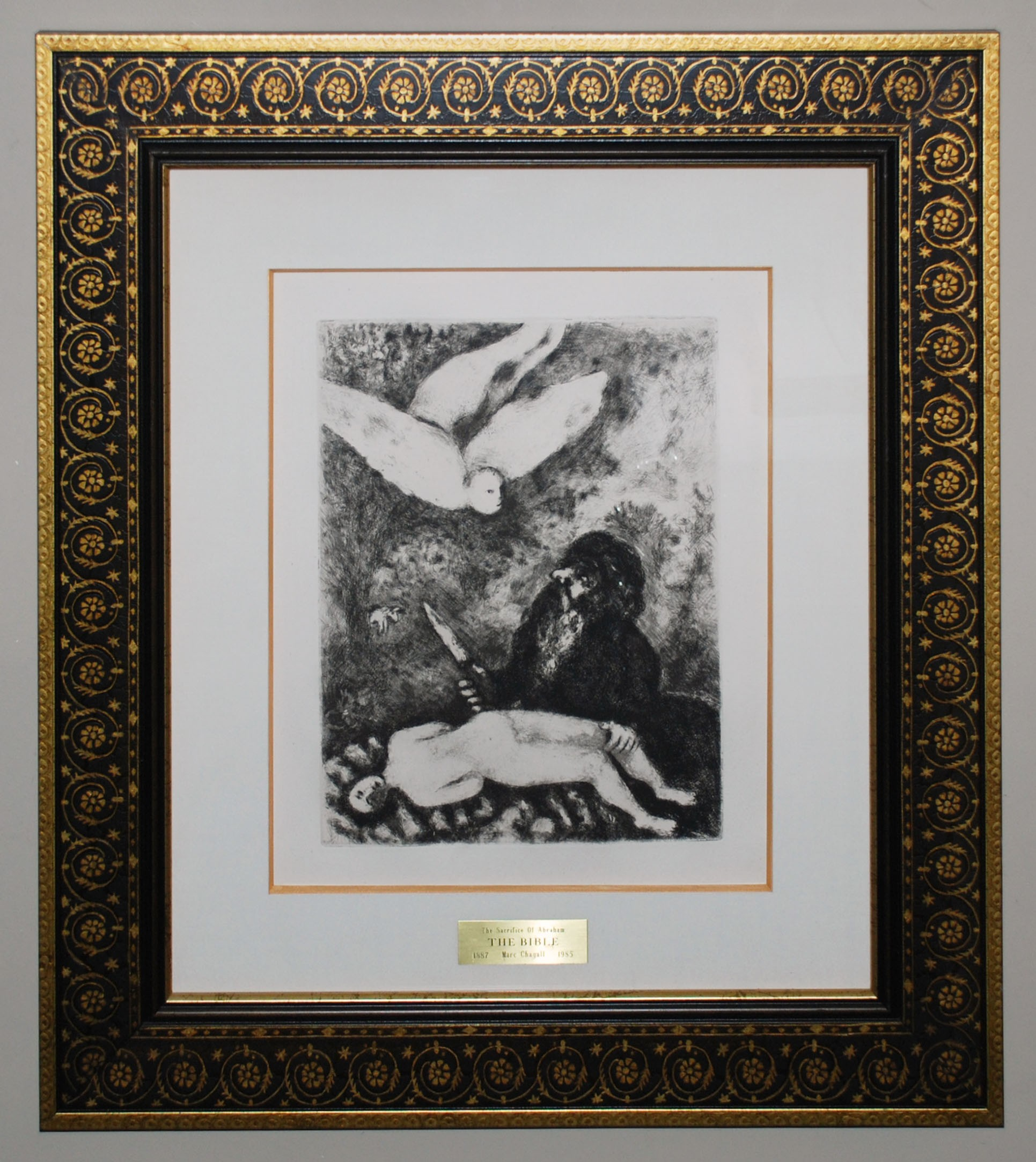 sacrifice of abraham from the bible georgetown frame shoppe