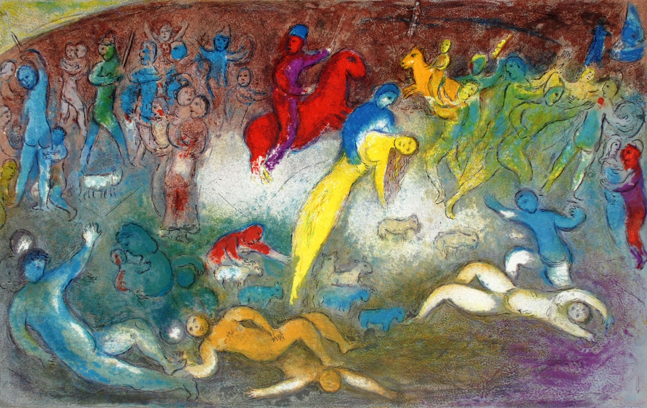 List Of Paintings By Marc Chagall - Defendbigbird.com