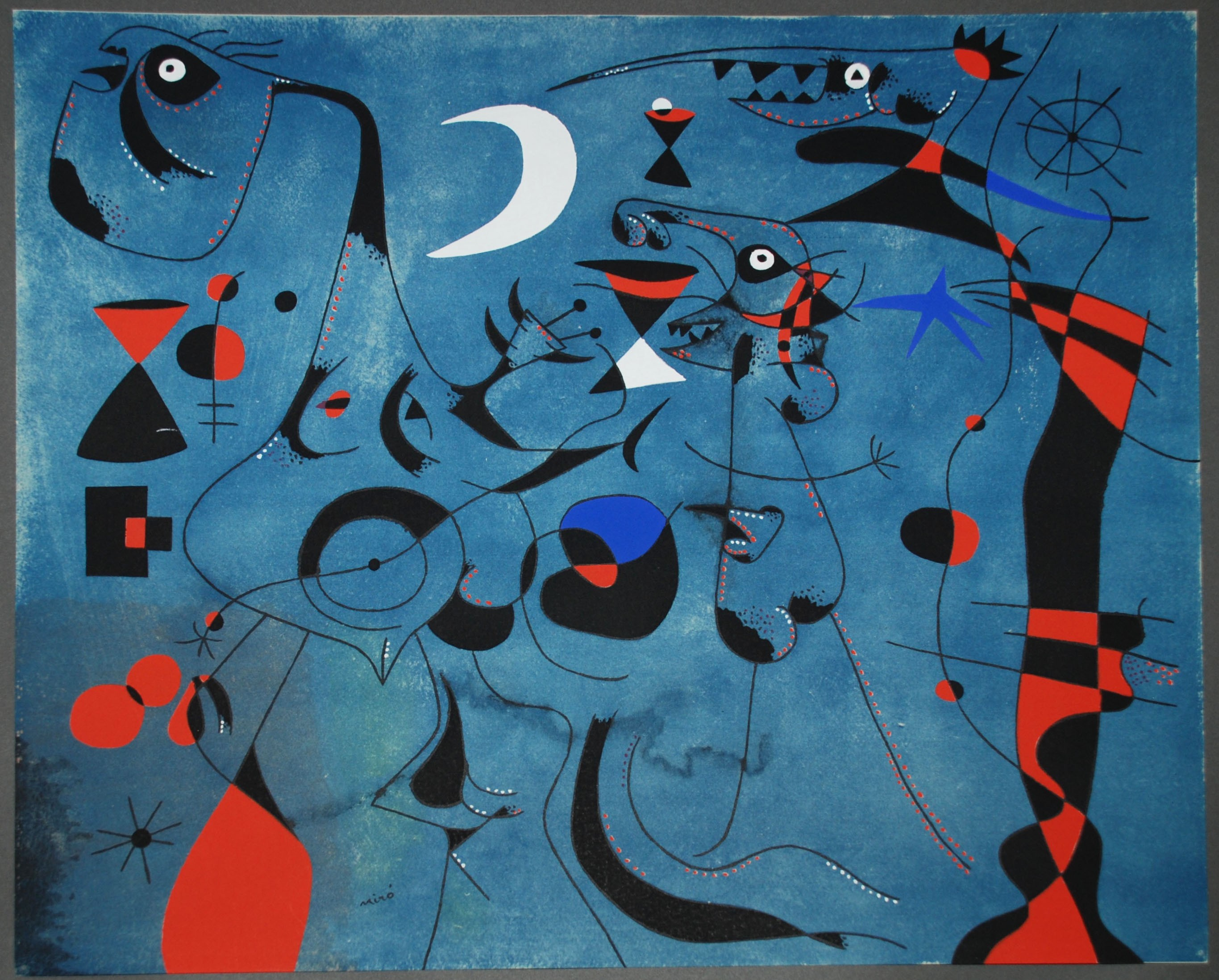 Joan Miro Signed Les Essencies De La Terra Per Miro Large Portfolio Book 16x21
