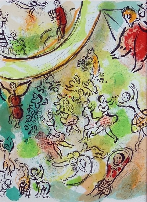 Marc Chagall Ceiling Of The Paris Opera