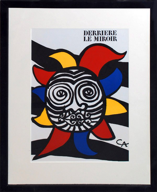 Cover derriere le miroir georgetown frame shoppe for Derriere le miroir calder