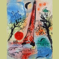 Marc Chagall Vision of Paris